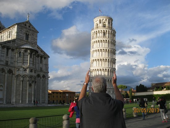 Helvetia: holding up the tower