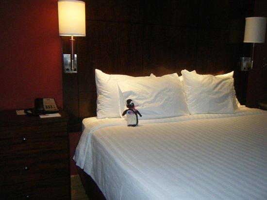 Residence Inn Chattanooga near Hamilton Place : Penelope Penguin enjoyed her stay at the Residence Inn very much!