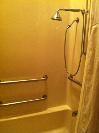 Holiday Inn Express Boonville: more clean shower