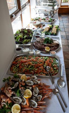 Am Birlinn: buffet