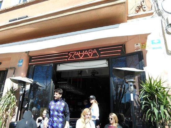 Exterior of Zahara