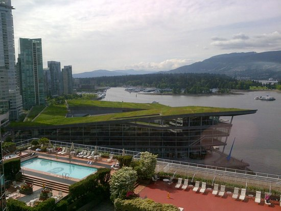 Pan Pacific Vancouver: Awesome view from the room!