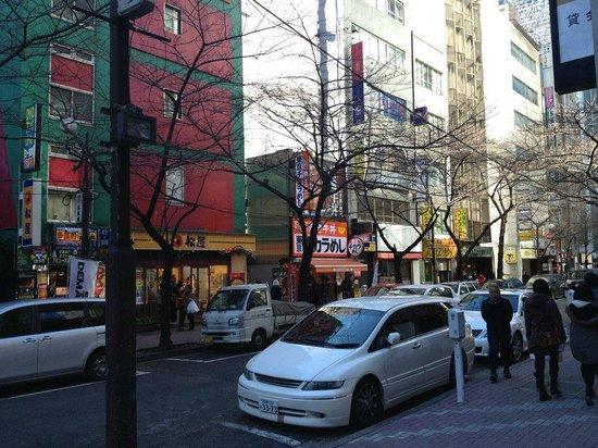 Yaesu Terminal: outside the hotel