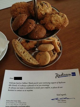 Отель Radisson Blu Hotel (г. Таллин): Unexpected and appreciated.