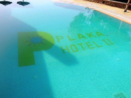 Plaka Beach Hotel: Pool