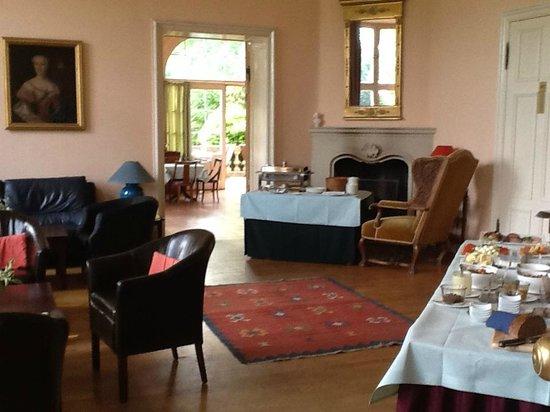 Schloss Ziethen: frühstücksbuffett