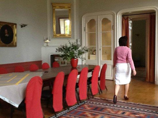 Schloss Ziethen: Speisezimmer