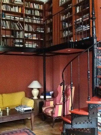 Schloss Ziethen: Bibliothek