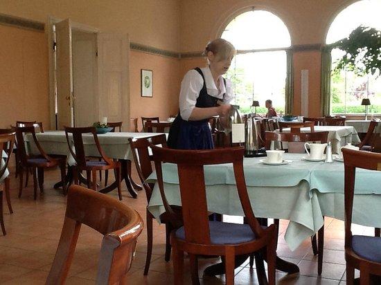 Schloss Ziethen: Orangerie / Frühstücksraum