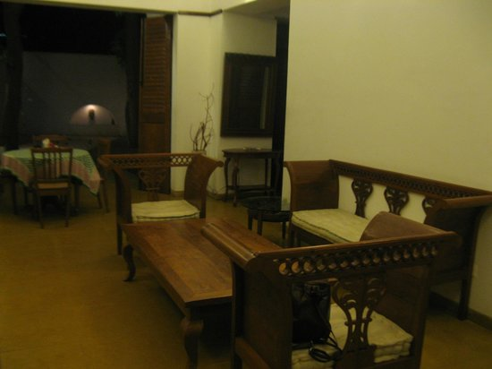 Villa Christophe: Common hall