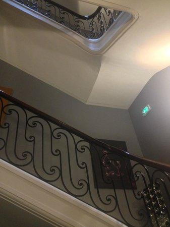 Le Boutique Hotel : Staircase
