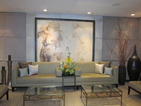 Las Alcobas Mexico DF: Comfortable lobby