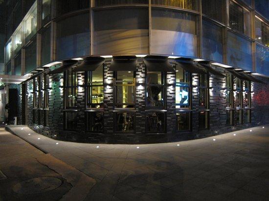 Las Alcobas Mexico DF: great hotel restaurants