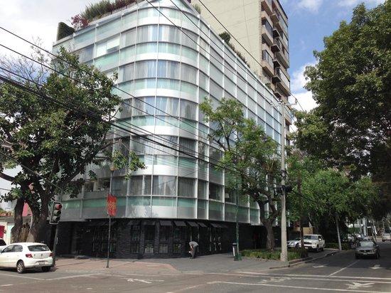Las Alcobas Mexico DF: Modern architecture