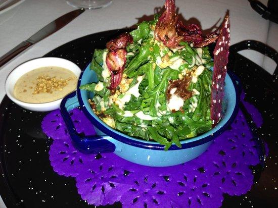 Las Alcobas Mexico DF: Dulce Patria's delicious salad - Hotel restaurant