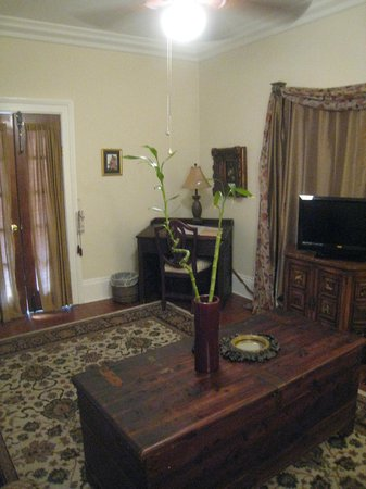 The New Orleans Jazz Quarters : Sitting area - Fountain Suite