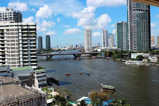 Mandarin Oriental, Bangkok : view from room
