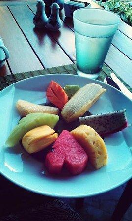 Mandarin Oriental, Bangkok : fruit breakfast
