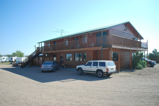 Badlands Interior Motel and Campground: corpo principale