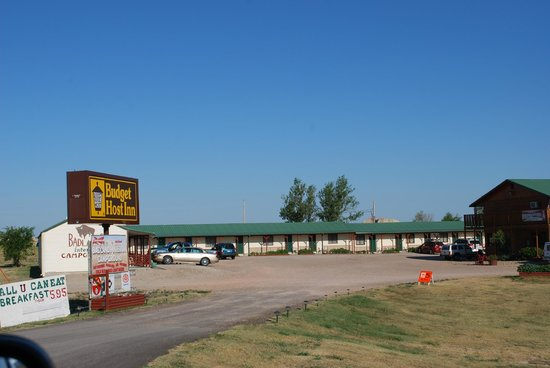 Badlands Interior Motel and Campground: panorama generale