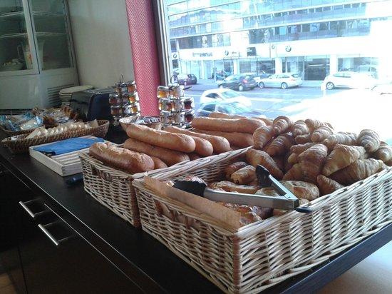 ResidHotel Lyon Part-Dieu : Petit Dejeuner, mmmmm