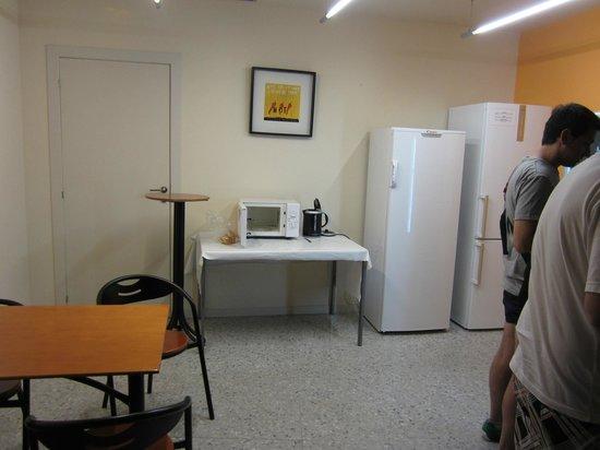 Residencia Erasmus Gracia : La cocina