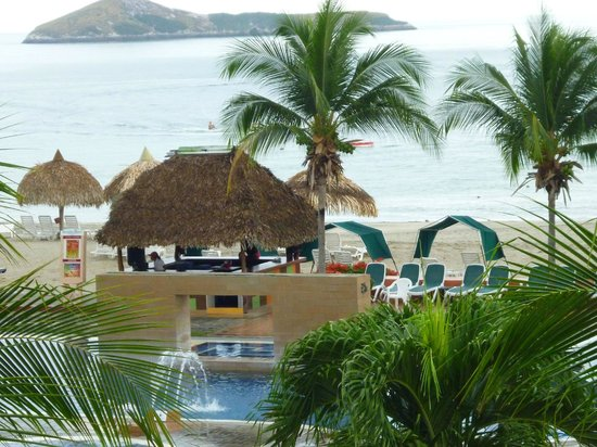 Royal Decameron Golf, Beach Resort & Villas: excelente vista, una pena el servicio