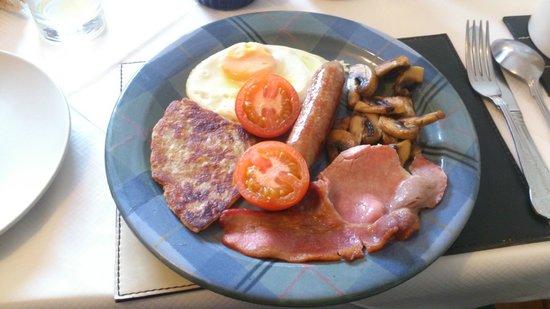 Carbisdale B & B: Parte del desayuno