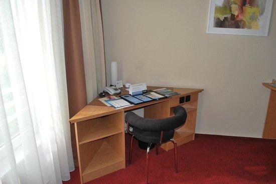 NH Berlin Potsdam Conference Center: Schreibtischecke