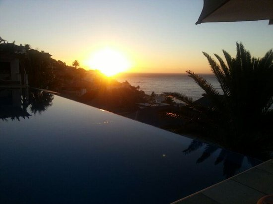 Compass House Boutique Hotel : Sunset after a long lazing day in the sun