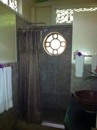 Fond Doux Plantation & Resort : Restroom in Hilltop Coconut