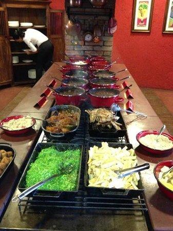 Lá em Casa Restaurante: uma imagem vale mais....