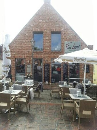 "Restaurant ""Festland"" in Greetsiel"