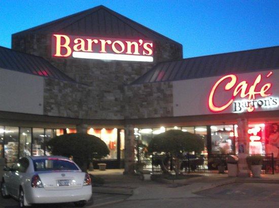 Cafe Barron's : Barrons Cafe, Longview, TX