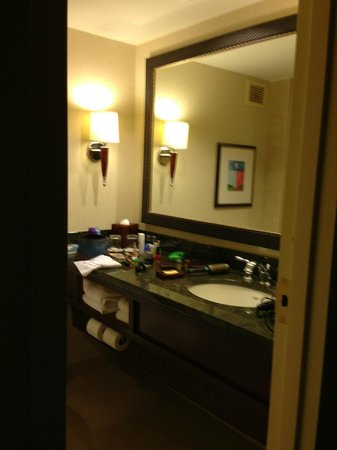 Houston Marriott Westchase: Bathroom