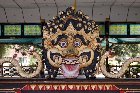 Kraton Yogyakarta: decoración en el kraton