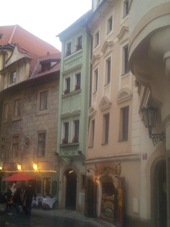 Clementin Old Town: Schmale Fassade