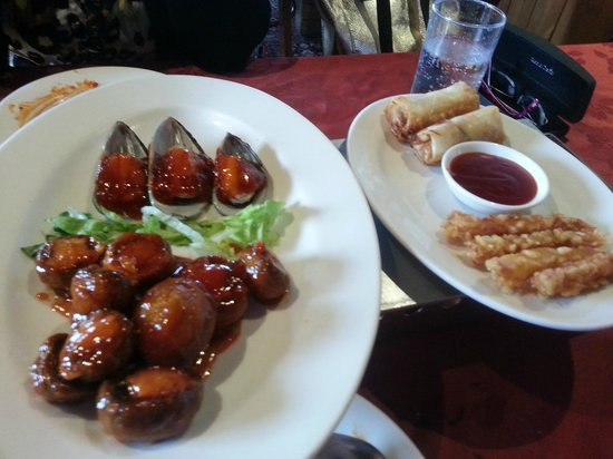 Beijing Palace: another smll selection of the vast starters