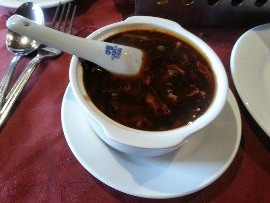 Beijing Palace: seet n sour soup ( my fav dish)