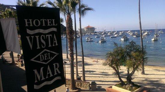 Hotel Vista Del Mar : view from lobby balcony toward Casino