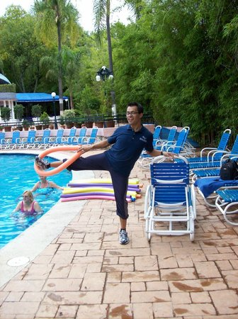 Hotel Spa Ixtapan: Water Aerobics in session