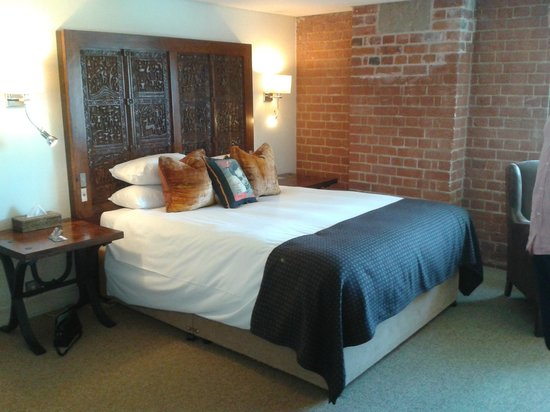 Salthouse Harbour Hotel : Bedroom