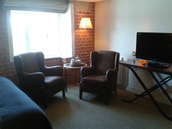 Salthouse Harbour Hotel: Sitting room area
