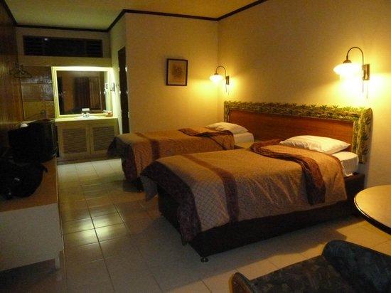 Bromo Cottages Hotel: notre chambre au Bromo cottages
