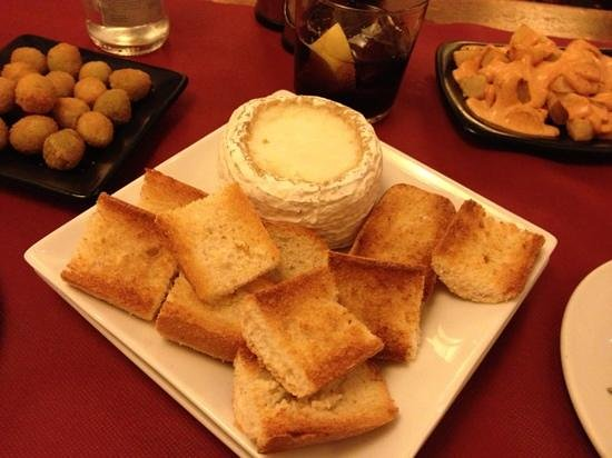 Casa Alfonso : heerlijke gesmolten kaas