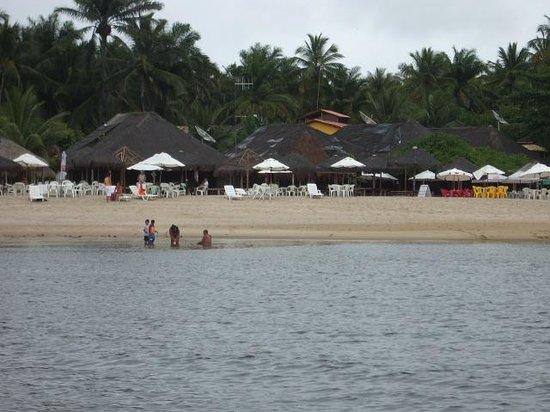 Pousada Chales Casa do Sol: Restaurantes na praia