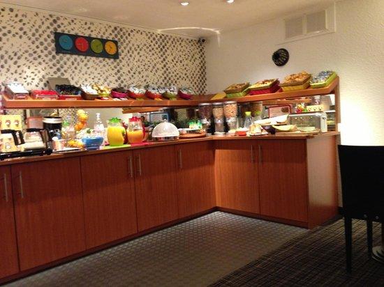 Ibis Styles Strasbourg Centre Gare: The breakfast buffé