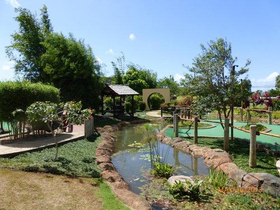 Kauai Mini Golf: Just a beautiful garden