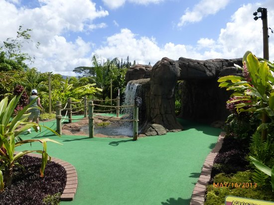 Kauai Mini Golf: More challenging a course then you would think