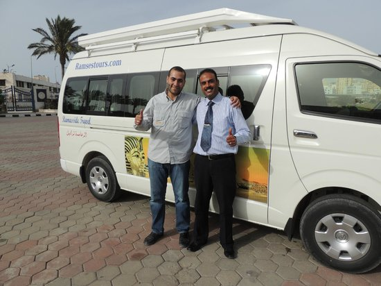 Ramasside Tours - Private Day Tours: Doma and Farouk from Ramasside.com